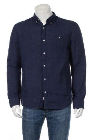 Мъжка риза McNeal, Размер L, Цвят Син, Лен, Цена 37,96лв.