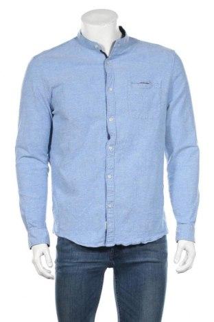 Ανδρικό πουκάμισο McNeal, Μέγεθος M, Χρώμα Μπλέ, 98% βαμβάκι, 2% ελαστάνη, Τιμή 18,84€