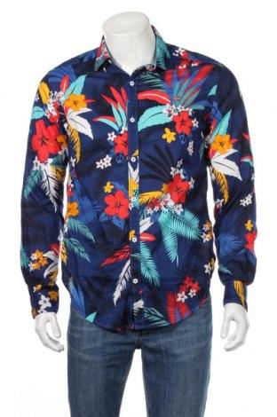 Ανδρικό πουκάμισο Napapijri, Μέγεθος M, Χρώμα Μπλέ, Βαμβάκι, Τιμή 22,73€