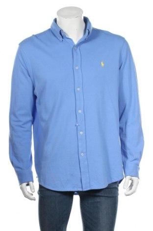 Мъжка риза Ralph Lauren, Размер L, Цвят Син, Памук, Цена 87,72лв.