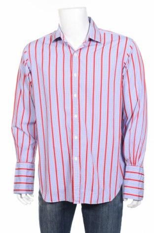 Мъжка риза T.M.Lewin, Размер L, Цвят Многоцветен, Памук, Цена 27,63лв.