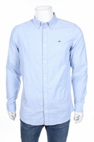 Pánská košile  Tommy Hilfiger, Rozměr XL, Barva Modrá, 98% bavlna, 2% elastan, Cena  1222,00Kč