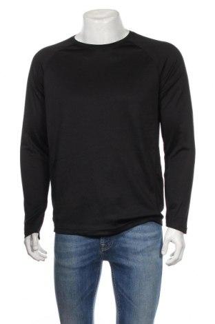 Мъжка спортна блуза Active&Co, Размер M, Цвят Черен, Полиестер, Цена 11,81лв.