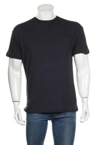 Мъжка тениска American Vintage, Размер S, Цвят Син, Памук, Цена 69,00лв.