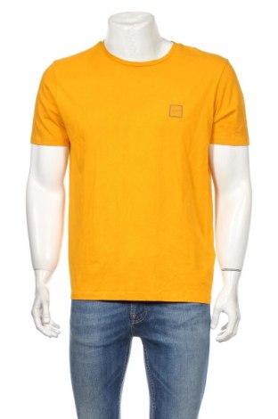 Męski T-shirt Hugo Boss, Rozmiar XL, Kolor Żółty, Bawełna, Cena 142,80zł