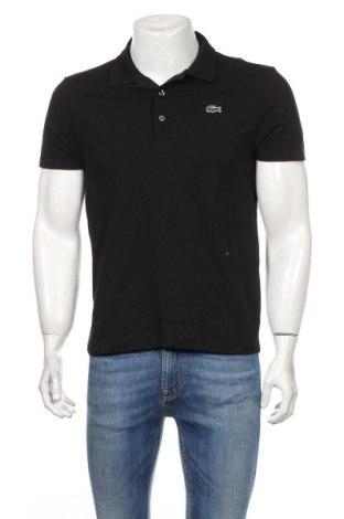 Tricou de bărbați Lacoste, Mărime M, Culoare Negru, Bumbac, Preț 130,26 Lei