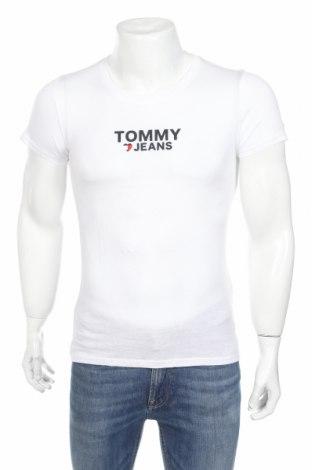 Ανδρικό t-shirt Tommy Hilfiger, Μέγεθος XS, Χρώμα Λευκό, 50% βαμβάκι, 50% μοντάλ, Τιμή 15,47€