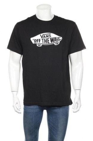Ανδρικό t-shirt Vans, Μέγεθος L, Χρώμα Μαύρο, Βαμβάκι, Τιμή 18,06€