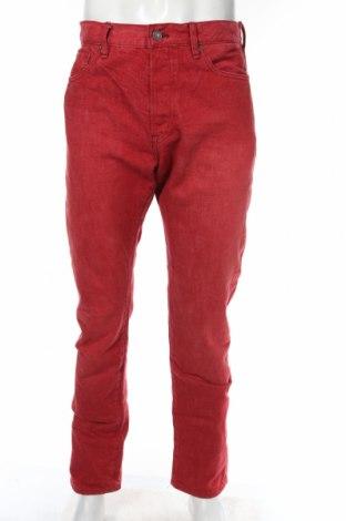 Мъжки дънки Ralph Lauren Denim & Supply, Размер L, Цвят Червен, 98% памук, 2% еластан, Цена 82,00лв.