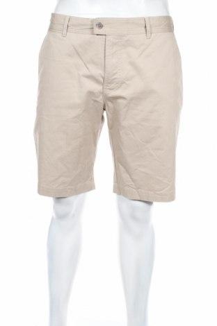 Мъжки къс панталон J.Lindeberg, Размер L, Цвят Бежов, 98% памук, 2% еластан, Цена 72,27лв.