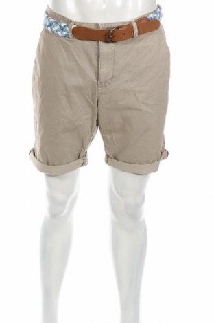 Мъжки къс панталон McNeal, Размер L, Цвят Сив, Памук, Цена 37,96лв.
