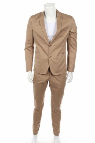 Pánsky oblek  Drykorn for beautiful people, Veľkosť M, Farba Béžová, 65% polyester, 35% bavlna, Cena  106,84€