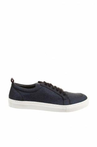 Мъжки обувки Boohoo, Размер 44, Цвят Син, Текстил, Цена 35,28лв.