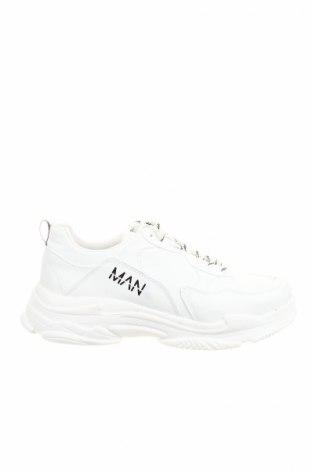 Мъжки обувки Boohoo, Размер 46, Цвят Бял, Еко кожа, Цена 35,28лв.