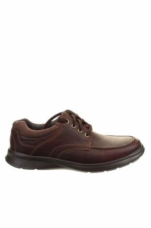 Мъжки обувки Clarks, Размер 43, Цвят Кафяв, Естествена кожа, Цена 169,00лв.