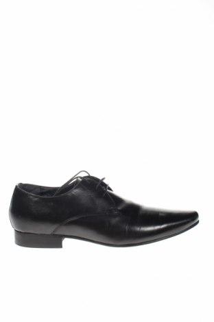 Мъжки обувки Kurt Geiger, Размер 44, Цвят Черен, Естествена кожа, Цена 135,85лв.