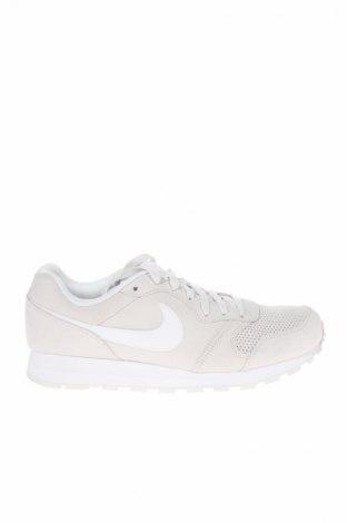 Мъжки обувки Nike, Размер 44, Цвят Бежов, Естествен велур, Цена 101,32лв.