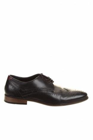 Férfi cipők  River Island, Méret 43, Szín Fekete, Valódi bőr, Ár 12960 Ft
