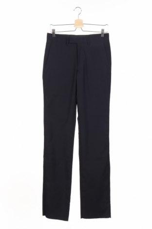 Мъжки панталон Gazzarrini, Размер S, Цвят Син, 82% полиестер, 18% вискоза, Цена 46,00лв.