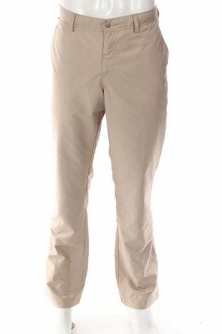 Мъжки панталон J.Lindeberg, Размер L, Цвят Бежов, Полиестер, Цена 32,13лв.