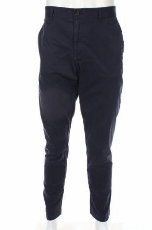 Мъжки панталон J.Lindeberg, Размер XL, Цвят Син, 98% памук, 2% еластан, Цена 87,45лв.
