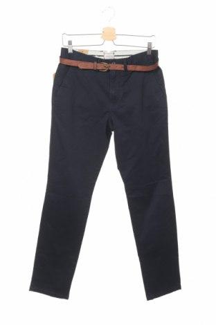 Мъжки панталон Jack & Jones, Размер S, Цвят Син, 98% памук, 2% еластан, Цена 34,50лв.