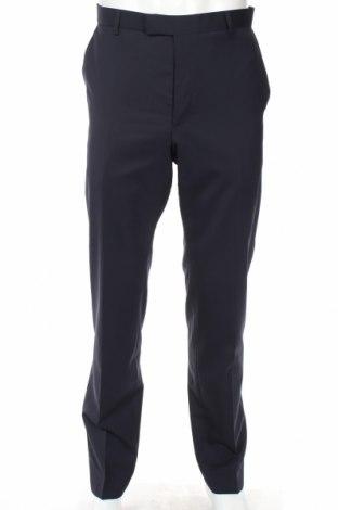 Мъжки панталон Strellson, Размер L, Цвят Син, 98% вълна, 2% еластан, Цена 71,60лв.