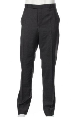 Мъжки панталон Strellson, Размер L, Цвят Сив, Вълна, Цена 75,60лв.