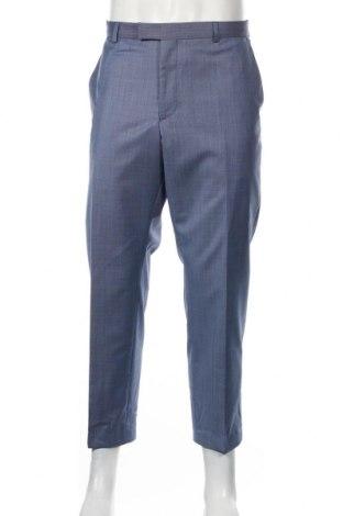 Ανδρικό παντελόνι Strellson, Μέγεθος XL, Χρώμα Μπλέ, 80% μαλλί, 10% πολυεστέρας, 10% πολυαμίδη, Τιμή 63,32€