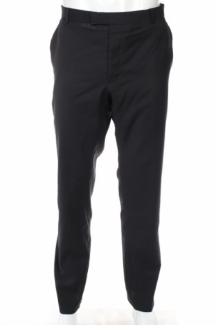 Мъжки панталон Strellson, Размер XL, Цвят Черен, Вълна, Цена 65,60лв.