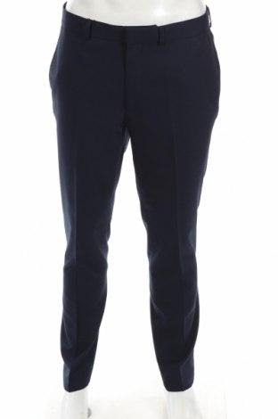 Мъжки панталон Topman, Размер L, Цвят Син, 67% полиестер, 33% вискоза, Цена 17,92лв.
