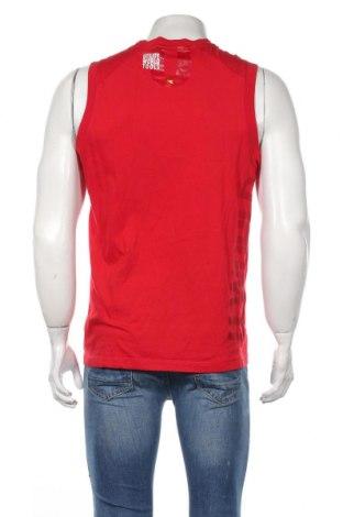 Мъжки потник Diadora, Размер L, Цвят Червен, Памук, Цена 9,25лв.