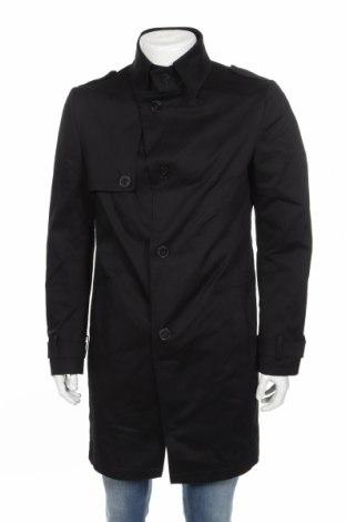 Pánský přechodný kabát  Drykorn for beautiful people, Rozměr L, Barva Černá, 97% bavlna, 3% elastan, Cena  2024,00Kč