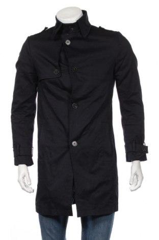 Pánský přechodný kabát  Drykorn for beautiful people, Rozměr S, Barva Modrá, 60% bavlna, 40% polyester, Cena  3476,00Kč