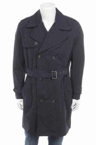 Pánský přechodný kabát  Mango, Rozměr L, Barva Modrá, Polyamide, Cena  522,00Kč
