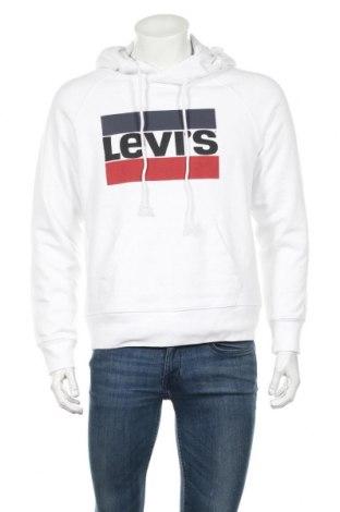 Мъжки суичър Levi's, Размер M, Цвят Бял, Памук, Цена 99,00лв.