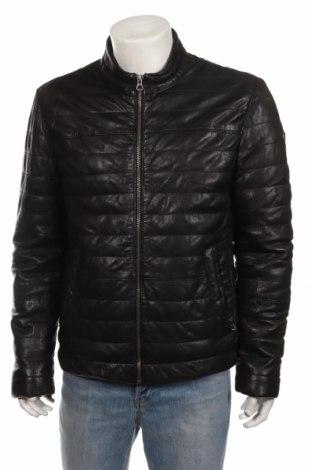 Pánska kožená bunda  Gipsy, Veľkosť L, Farba Čierna, Pravá koža , Cena  111,03€