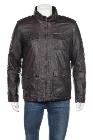 Мъжко кожено яке Levi's, Размер S, Цвят Черен, Еко кожа, Цена 107,84лв.