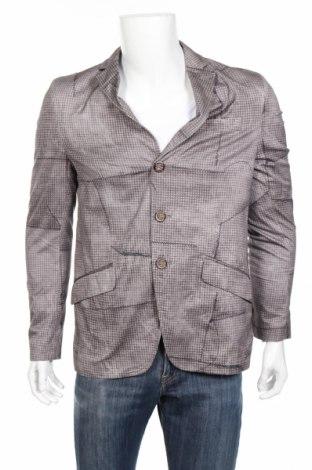 Мъжко сако Desigual, Размер L, Цвят Сив, 100% памук, Цена 108,80лв.