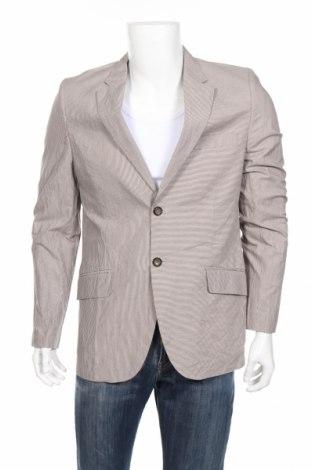 Мъжко сако Desigual, Размер L, Цвят Бежов, 98% памук, 2% метални нишки, Цена 94,95лв.