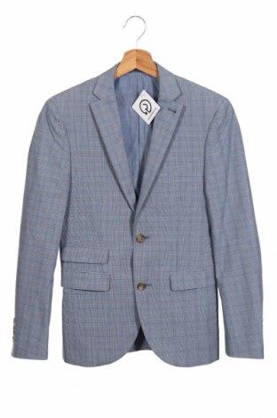 Мъжко сако Next, Размер XS, Цвят Син, 100% памук, Цена 29,43лв.