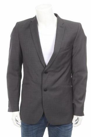 Мъжко сако Strellson, Размер M, Цвят Сив, 100% вълна, Цена 108,15лв.