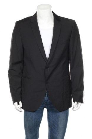Мъжко сако Strellson, Размер XL, Цвят Черен, Вълна, Цена 49,05лв.