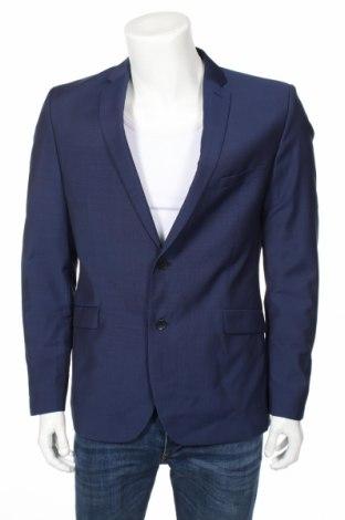 Мъжко сако Strellson, Размер L, Цвят Син, 100% вълна, Цена 111,65лв.