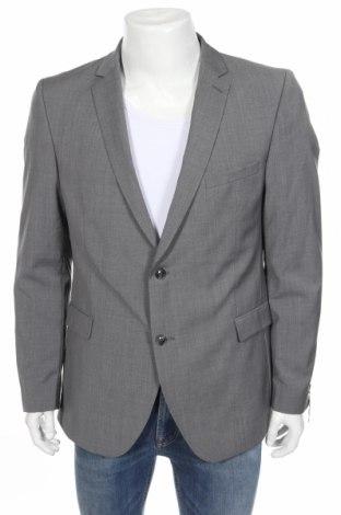 Мъжко сако Strellson, Размер L, Цвят Сив, Вълна, Цена 51,60лв.