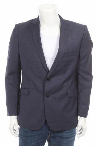 Мъжко сако Strellson, Размер L, Цвят Син, 100% вълна, Цена 108,15лв.