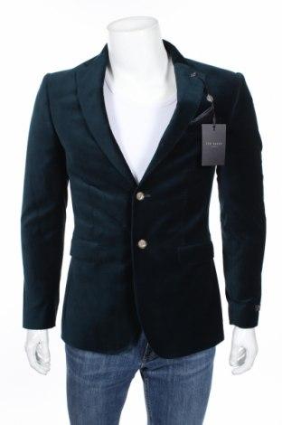 Pánske sako  Ted Baker, Veľkosť M, Farba Modrá, Bavlna, Cena  179,90€