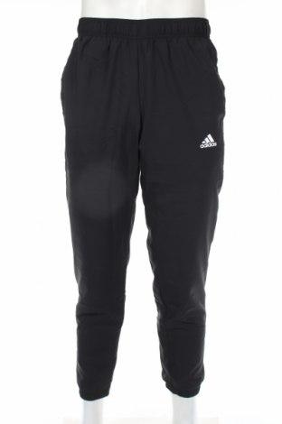 Ανδρικό αθλητικό παντελόνι Adidas, Μέγεθος M, Χρώμα Μαύρο, Πολυεστέρας, Τιμή 33,03€