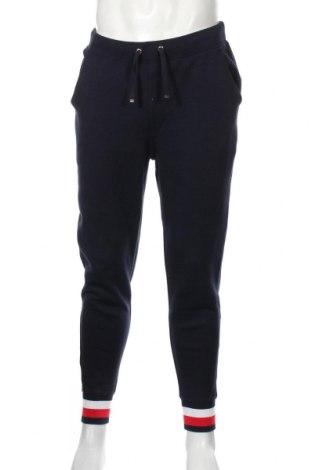 Pantaloni trening de bărbați Tommy Hilfiger, Mărime L, Culoare Albastru, Preț 149,68 Lei