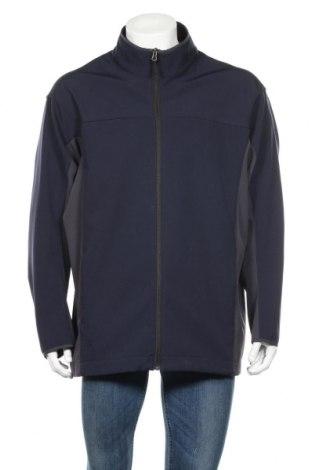Ανδρική αθλητική ζακέτα Marks & Spencer Blue Harbour, Μέγεθος XL, Χρώμα Μπλέ, 90% πολυεστέρας, 10% ελαστάνη, Τιμή 14,00€